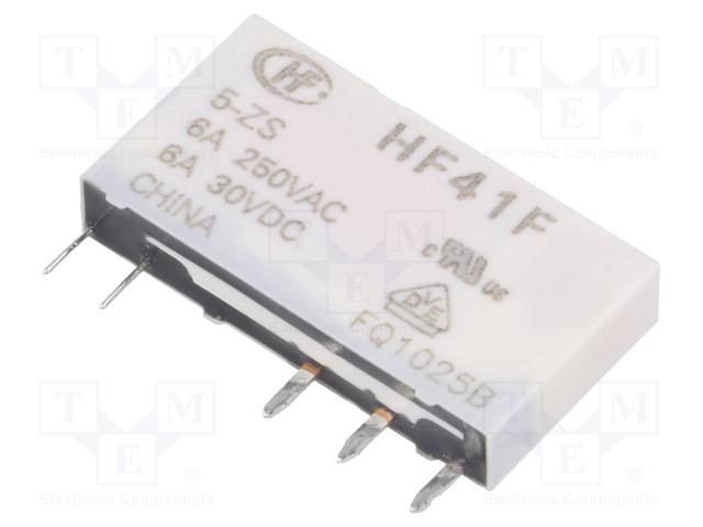 HONGFA RELAY HF41F/005-ZS - Relé: elektromagnetické