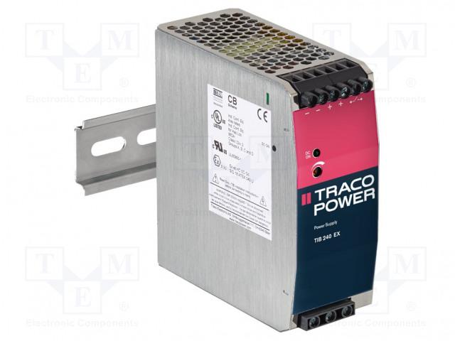 TRACO POWER TIB 240-148EX - Napájací zdroj: spínaný