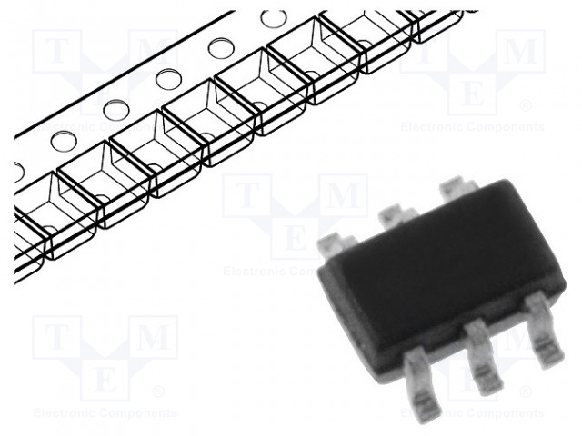 DIODES INCORPORATED BSS8402DW-7-F - Transistor: N/P-MOSFET