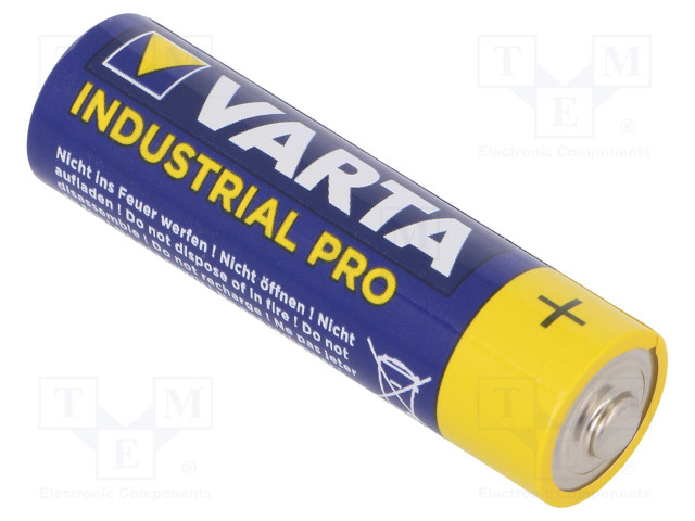 VARTA BAT-LR6/V - Battery: alkaline