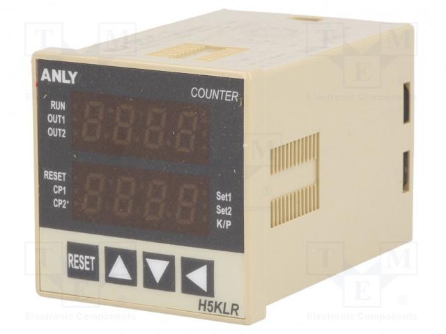 ANLY ELECTRONICS H5KLR-11 12-48V AC/DC - Počitadlo: elektronický