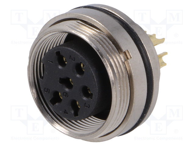 BULGIN PXMBNI16RPF06ASC - Connector: M16