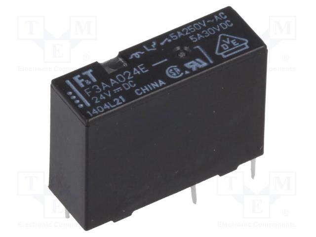 FUJITSU FTR-F3AA024E-HA - Relay: electromagnetic