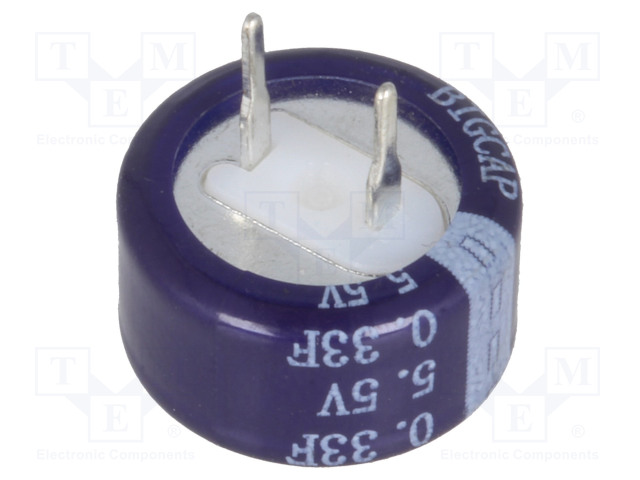 BIGCAP BCE005R5C334FBS - Kondenzátor: elektrolytický