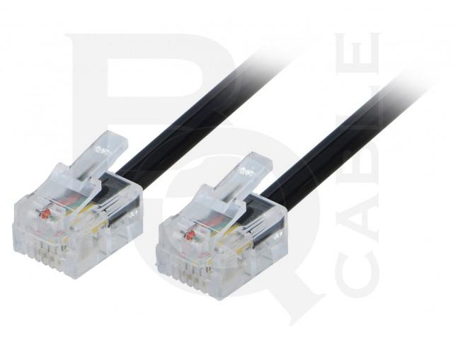 TEL-RJ11-BK/02 BQ CABLE, Kabel