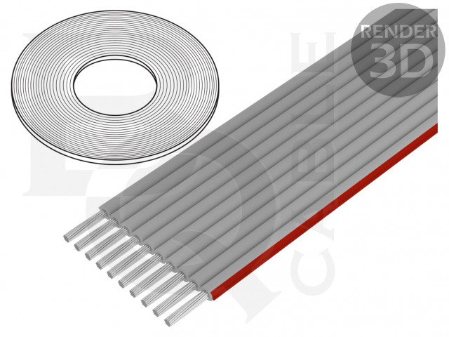 FLC-10/30-E BQ CABLE, Leiding