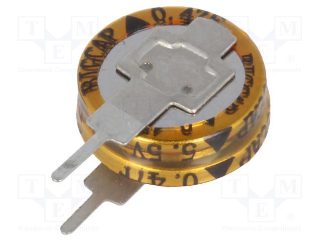 BIGCAP BCE005R5V474FS - Kondenzátor: elektrolytický