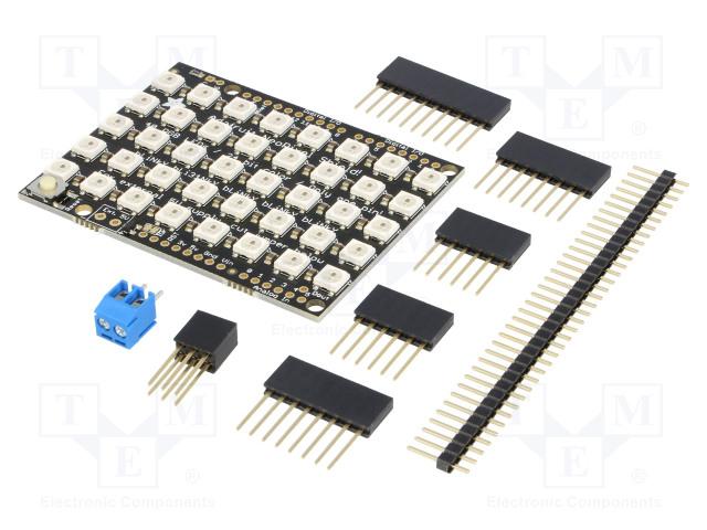 POLOLU ADAFRUIT 5×8 WS2812 LED NEOPIXEL SHIELD - Modul: LED