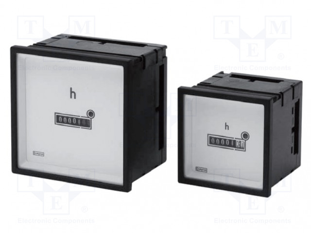 CROMPTON - TE CONNECTIVITY 039-41509-1236-12-36V-DC - Meter: operating time counter