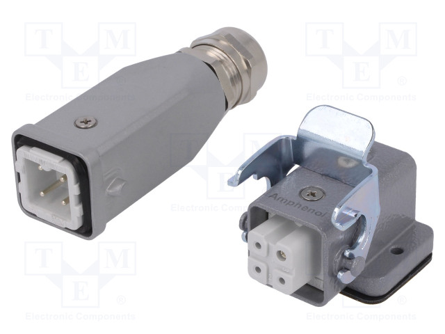 AMPHENOL C146 10E003 925 4 - Connector: HDC