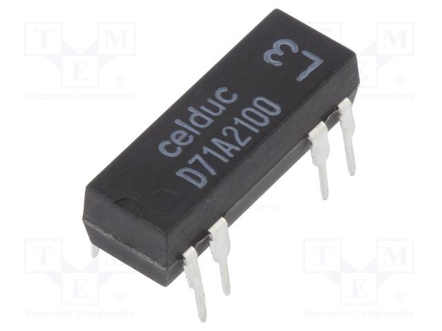 CELDUC D71A2100 - Przekaźnik: kontaktronowy