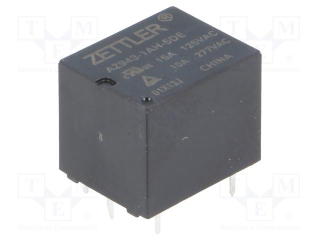 ZETTLER AZ943-1AH-5DE - Relay: electromagnetic