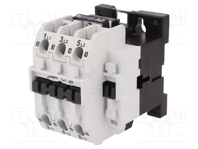 DANFOSS CI 20 230V AC - Stykač: 3-pólový