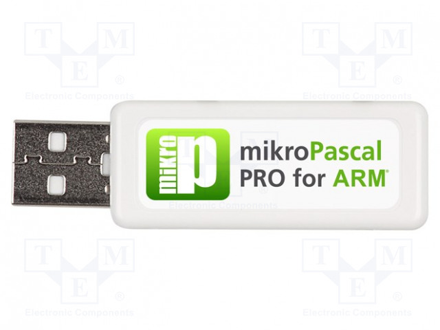 MIKROELEKTRONIKA MIKROPASCAL PRO FOR ARM (USB DONGLE LICE - Compiler