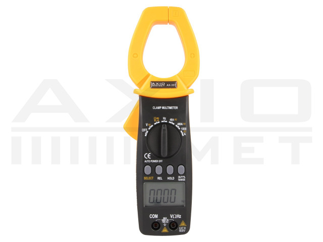 AX-351 AXIOMET, AC digital clamp meter