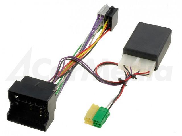 FORD/04-BLP 4CARMEDIA, Adapter voor stuurbediening