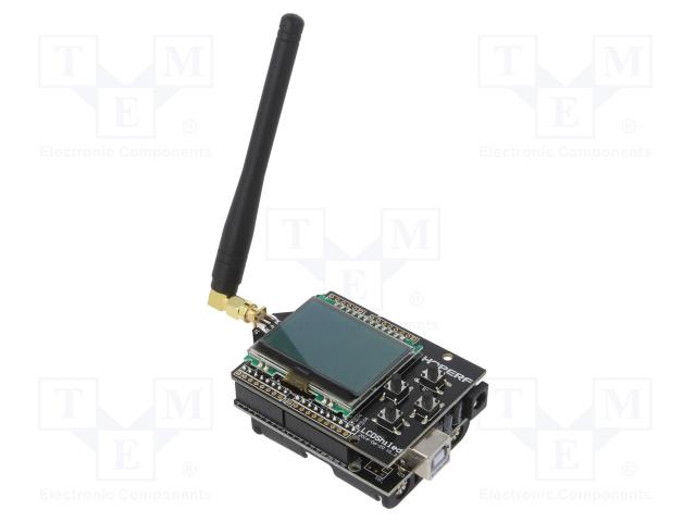 HOPE MICROELECTRONICS HOPEDUINO + 40801000605 - Výv.kit: vývojový