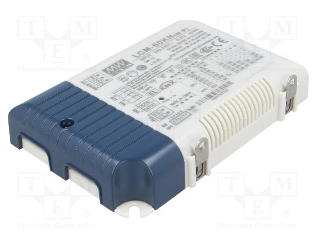MEAN WELL LCM-60KN - Napájecí zdroj: KNX / LED