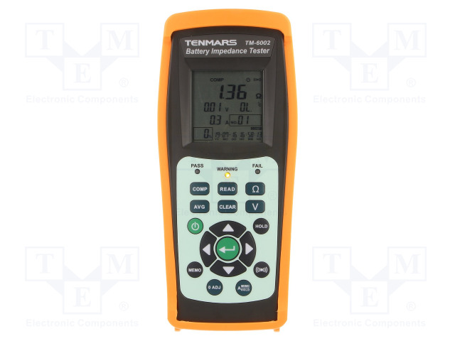 TENMARS TM-6002 - Tester: Batterien und Akkus