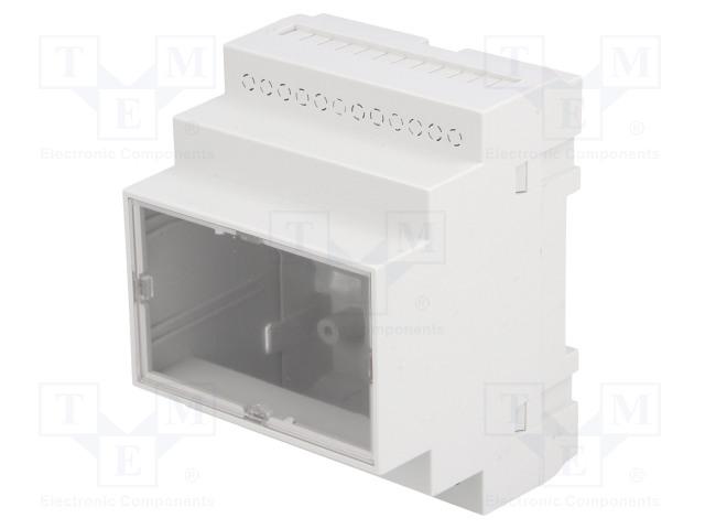 KRADEX Z108JFP ABS V0 - Carcasă: pentru şină DIN