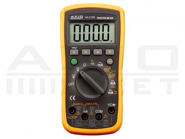 AX-C705 AXIOMET, Kalibrátor proudové smyčky