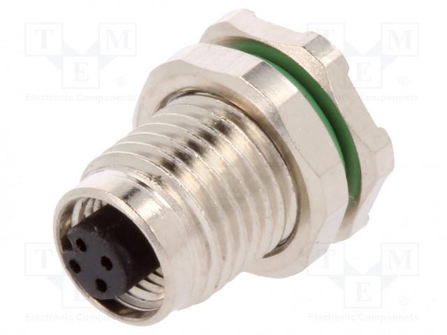 BULGIN PXMBNI05RPF04APC - Connector: M5
