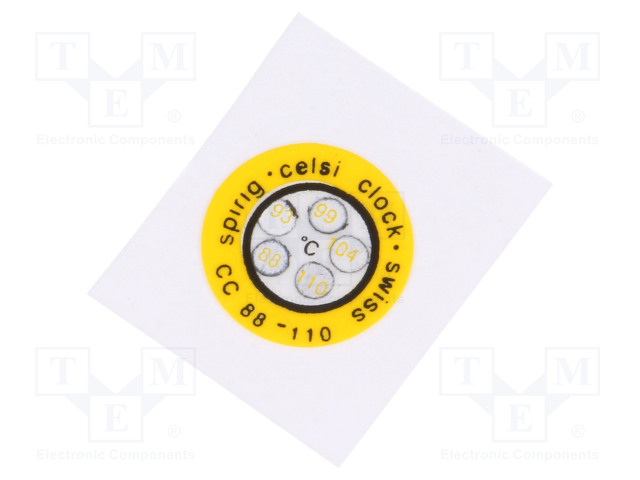 SPIRIG CC-088/110 - Indikátor teploty