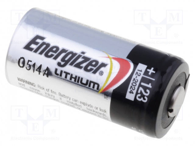 ENERGIZER 628297 - Baterie: lithiové