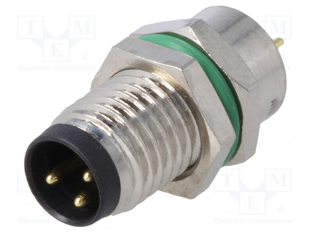 BULGIN PXMBNI08RPM03APC - Connector: M8