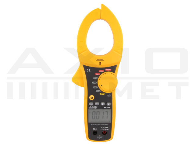 AX-356 AXIOMET, AC/DC digital clamp meter