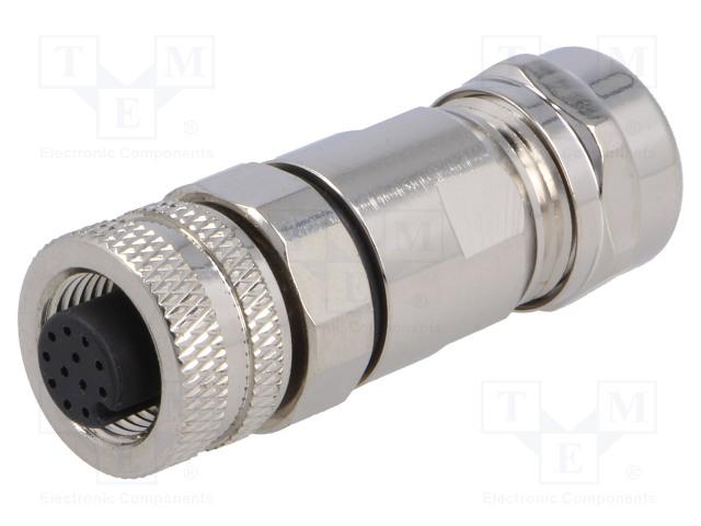 BULGIN PXMBNI12FBF12ASCPG9 - Plug