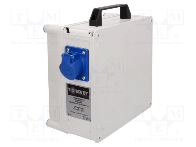 TOROIDY STOS1500 - Transformátor: ochranný