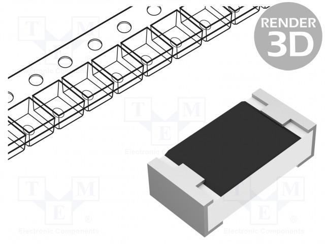 YAGEO RC0603FR-07510RL - Resistor: thick film