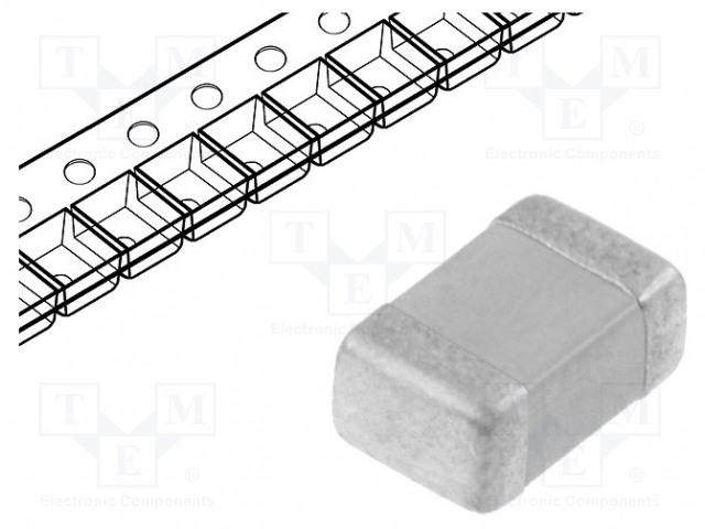YAGEO CC0805KRX7R9BB104 - Capacitor: ceramic