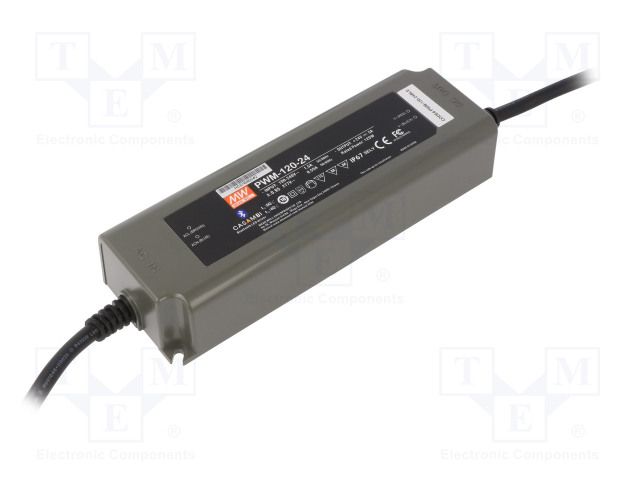 MEAN WELL PWM-120-24BLE - Power supply: switched-mode