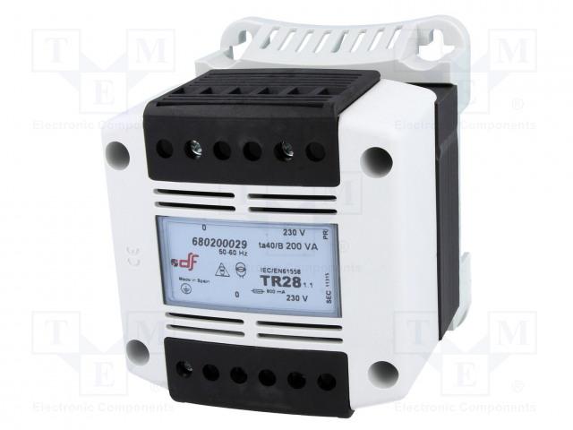 DF ELECTRIC 680200029 - Transformátor: ochranný