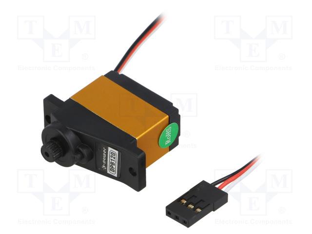 K-POWER DPB0120 - Motor: servomecanism