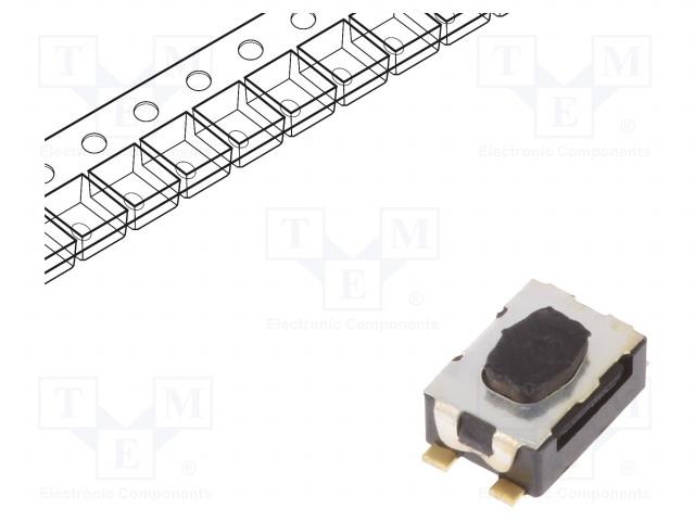 C&K Y78B24310FP - Mikroschalter TACT