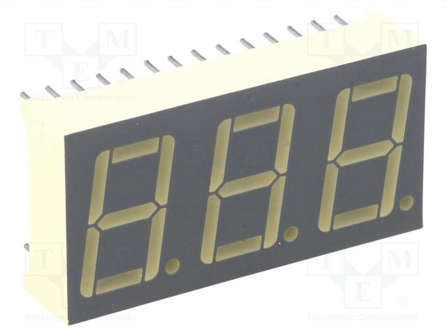 KINGBRIGHT ELECTRONIC BA56-11SRWA - Displej: LED