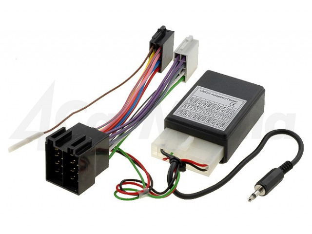 OPEL-JVC 4CARMEDIA, Adapter for control from steering wheel