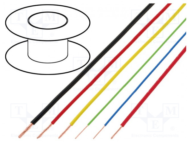 BQ CABLE FLRY-B0.50-BR/BK - Przewód