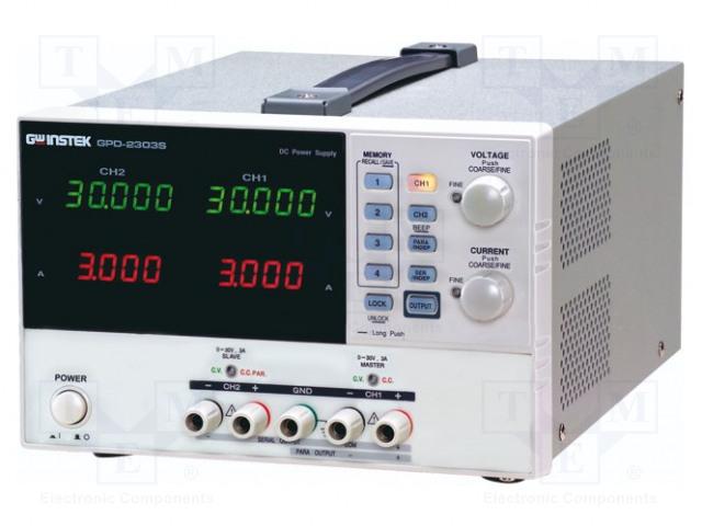GW INSTEK GPD-2303S - Zasilacz: laboratoryjny programowalny