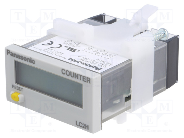 PANASONIC LC2H-F-DL-2KK-B - Counter: electronical