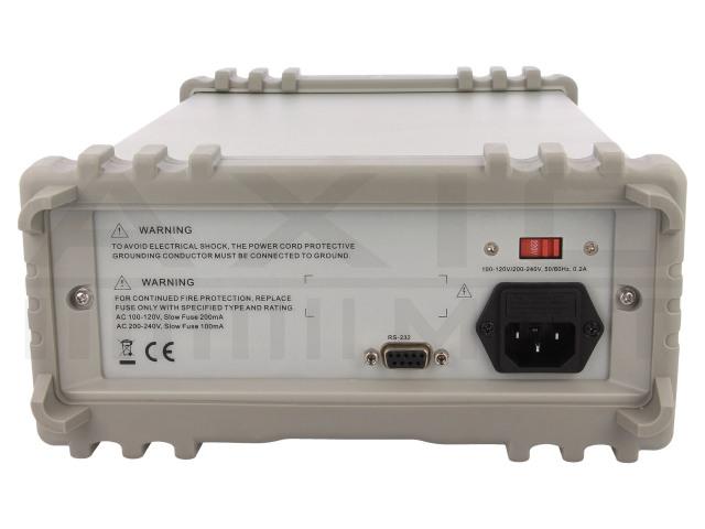 AX-8455 AXIOMET, Stolní multimetr