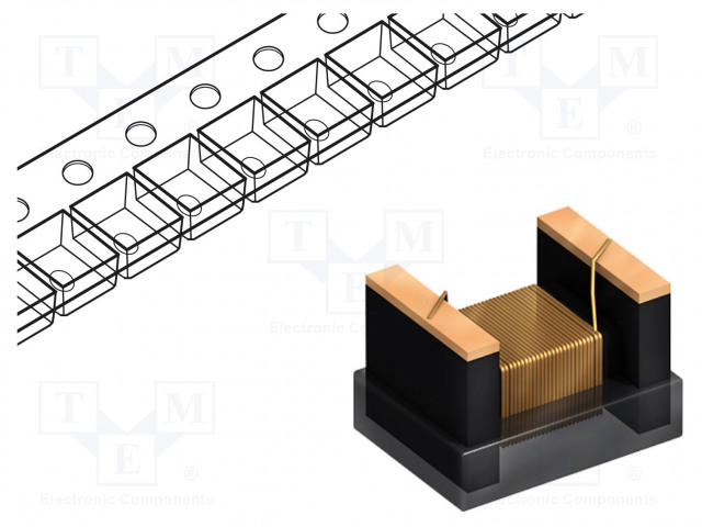 FASTRON 1210F-120K-01 - Inductor: wire