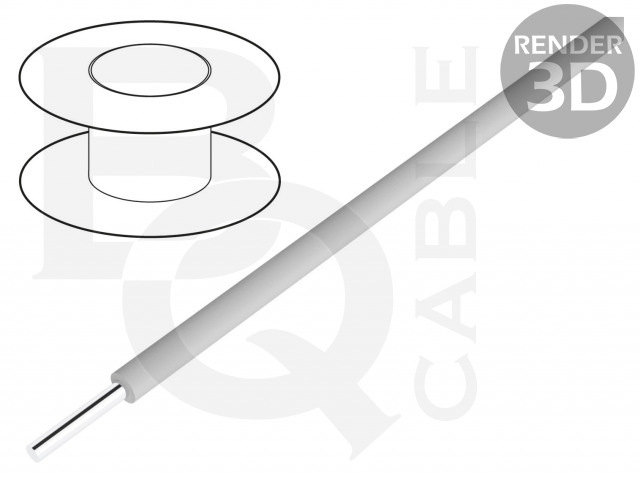KYNAR-GY/100 BQ CABLE, Vezeték