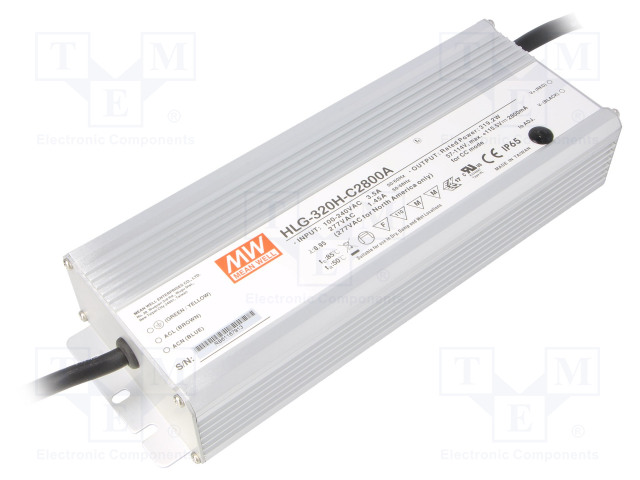 MEAN WELL HLG-320H-C2800A - Power supply: switched-mode