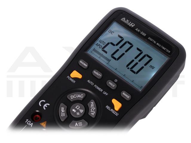 AX-595 AXIOMET, Multimetr cyfrowy
