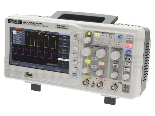 AX-DS1052CFM AXIOMET, Osciloscopio