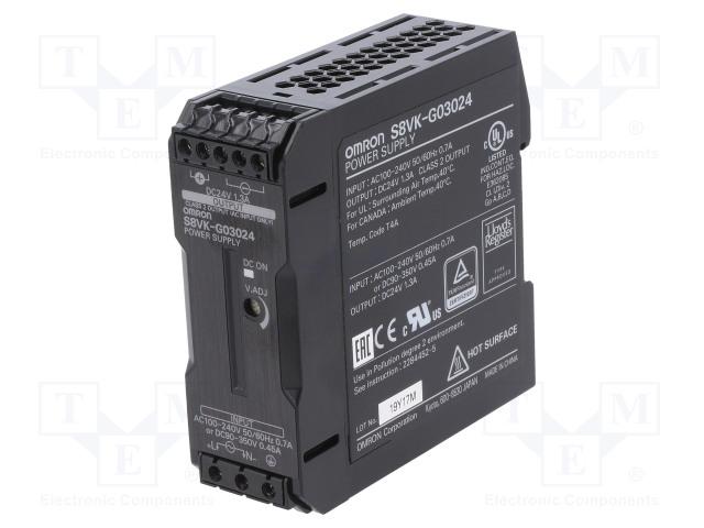 OMRON S8VK-G03024 - Napájecí zdroj: spínaný